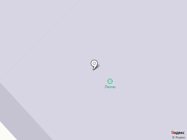 Городская детская библиотека на карте Нефтеюганска