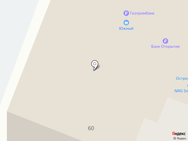 Остров сокровищ на карте Нефтеюганска