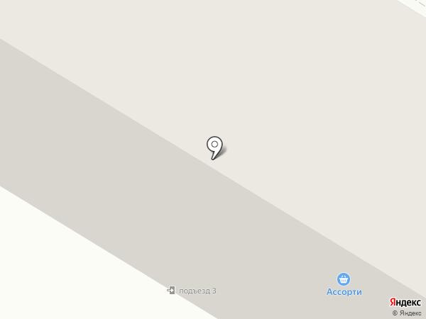 Ассорти на карте Нефтеюганска