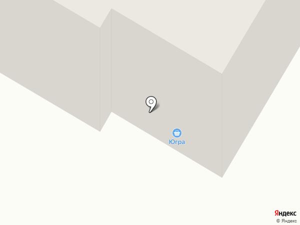 Ломбард 750 на карте Нефтеюганска