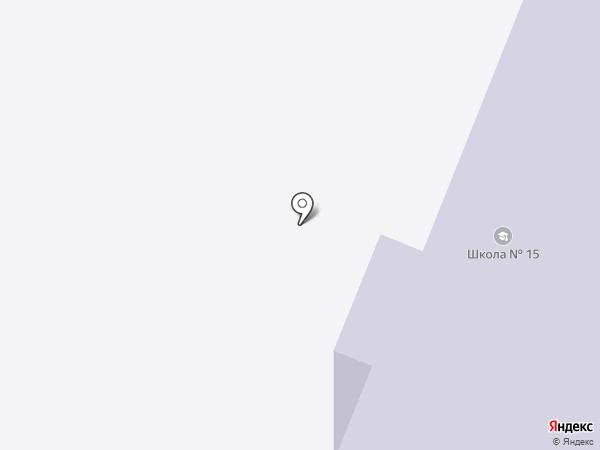Начальная школа-детский сад №15 на карте Нефтеюганска