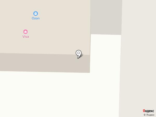 Контраст на карте Нефтеюганска
