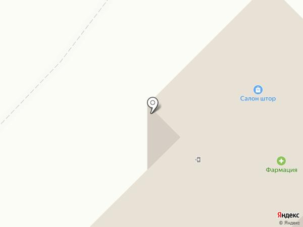 Военторг на карте Нефтеюганска