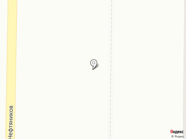 Марафон Express на карте Нефтеюганска