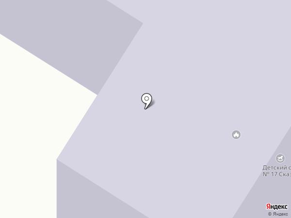 Детский сад №17 на карте Нефтеюганска