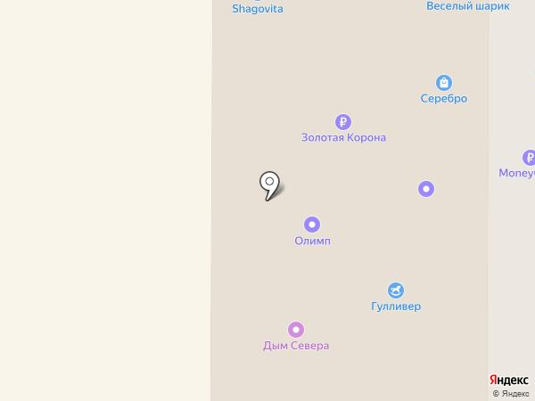 Студия причесок на карте Нефтеюганска