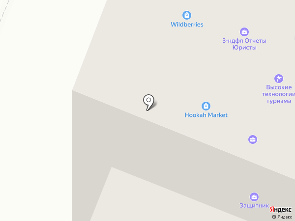 Корал Тревел на карте Нефтеюганска