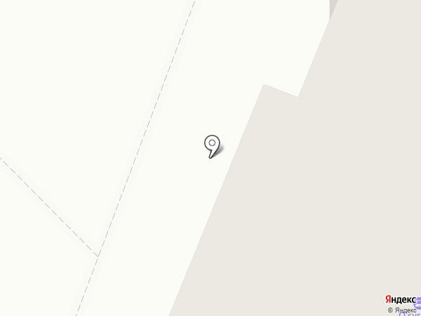 Акация на карте Нефтеюганска