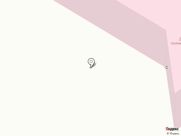 Городская детская поликлиника №2 на карте Нефтеюганска