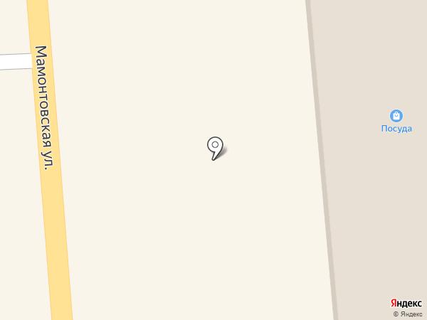 Шелковая нить на карте Нефтеюганска