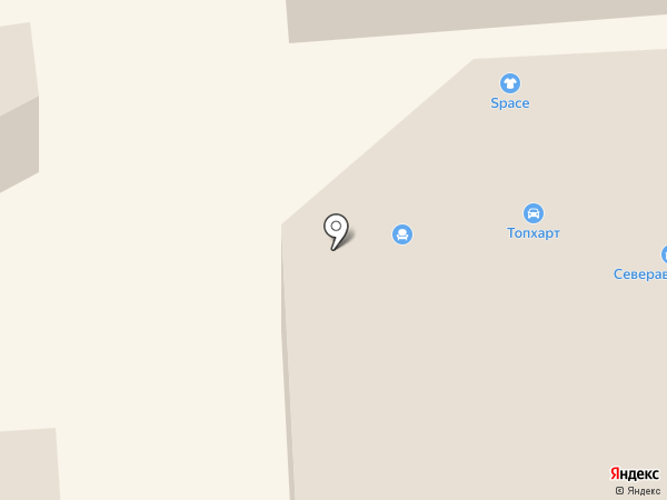 Норд-Юган на карте Нефтеюганска