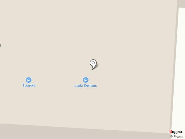Новострой плюс на карте Нефтеюганска