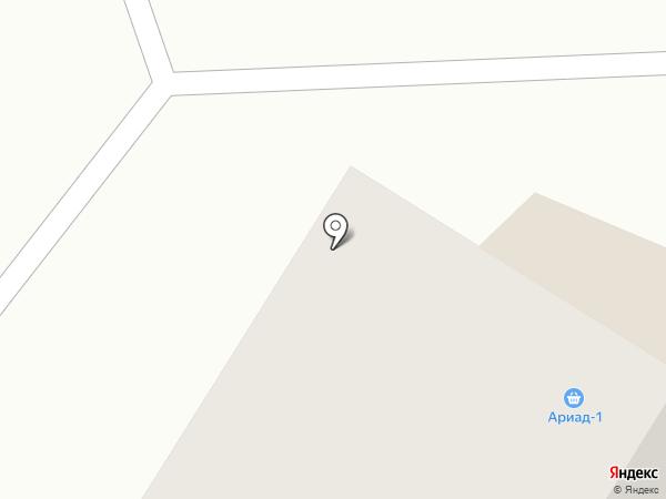 Риад-1 на карте Нефтеюганска