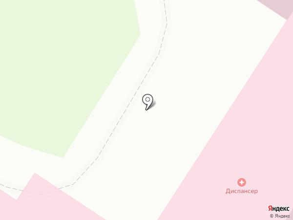 Клинический врачебно-физкультурный диспансер на карте Нефтеюганска