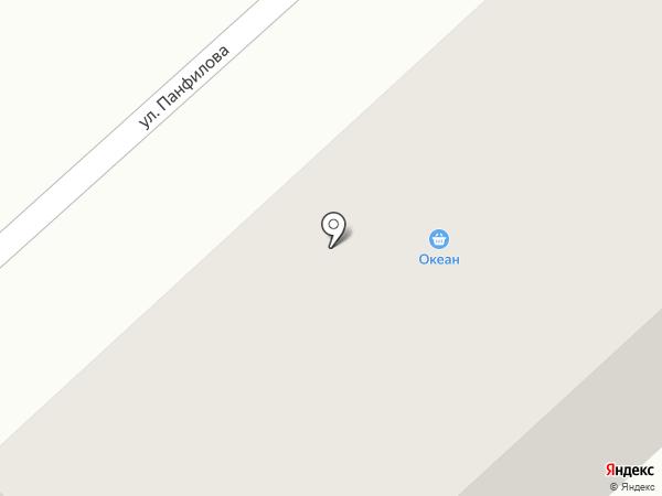 Океан на карте Темиртау