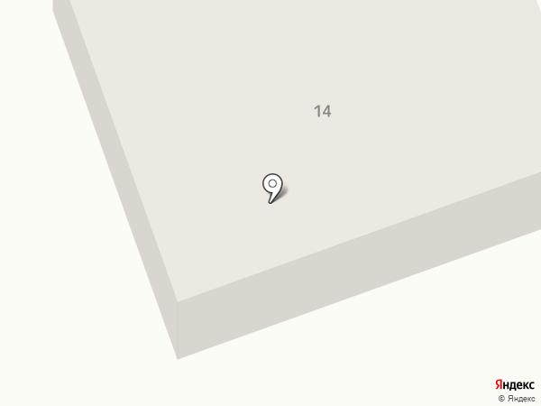 Общество красного полумесяца на карте Темиртау