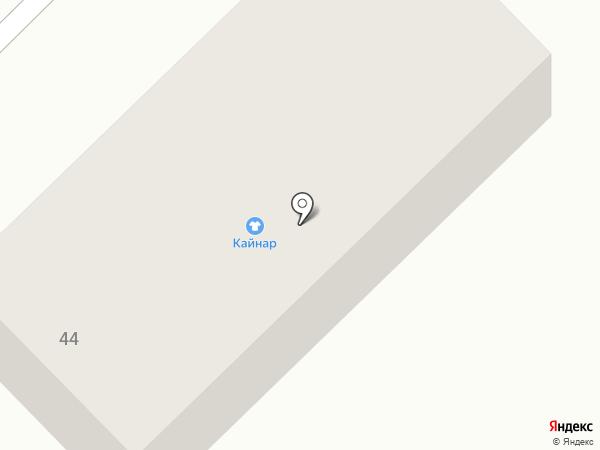 Кайнар на карте Дубовки