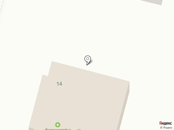 Фармакопейка на карте Красного Яра