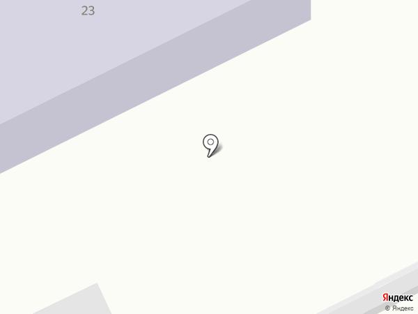 Смайлик на карте Красного Яра