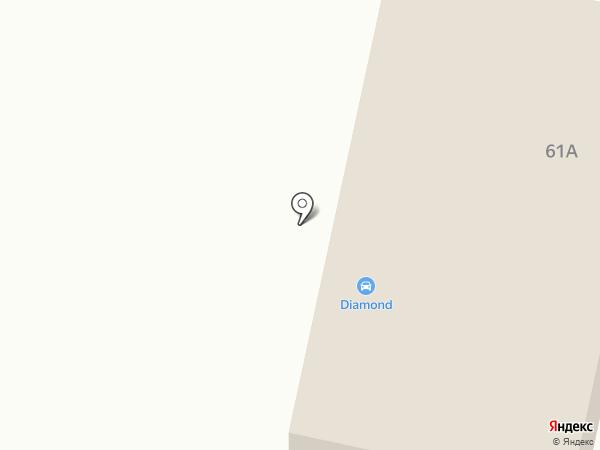 Diamond на карте Темиртау