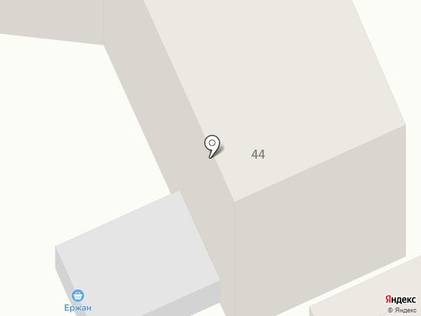 Ержан на карте Темиртау