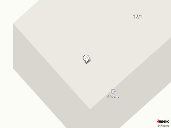 Ясли-сад №17 на карте Темиртау