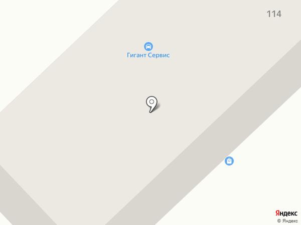 Корсак-2006 на карте Темиртау