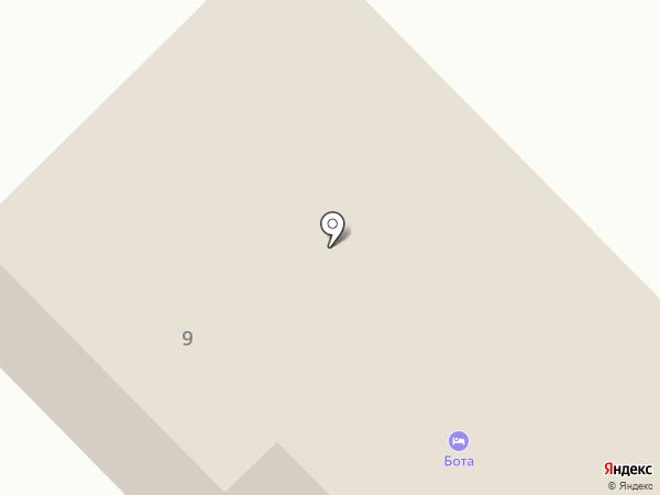 Бота на карте Темиртау