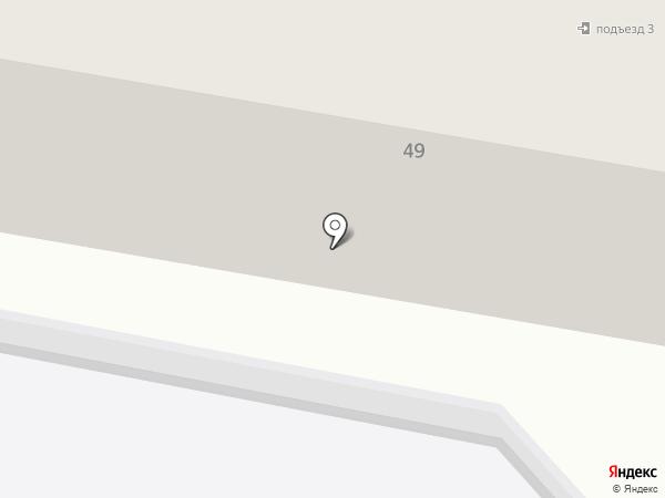Петрович на карте Темиртау