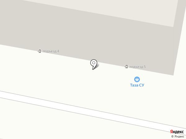 Стрелец на карте Темиртау