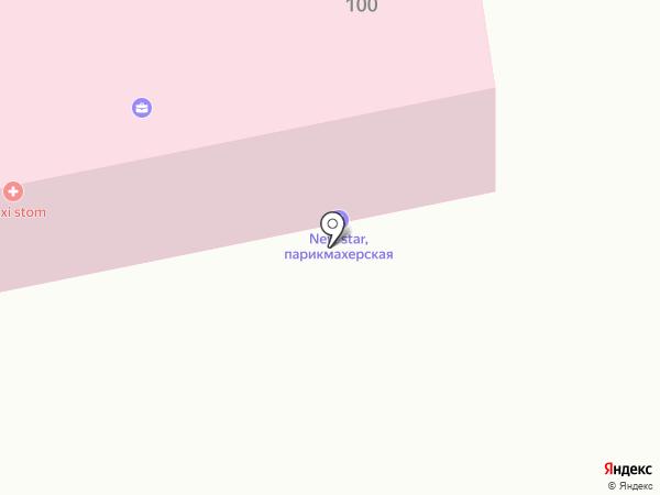 Атамекен на карте Темиртау