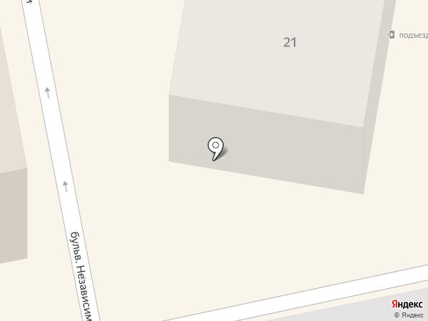 Дом культуры глухих г. Темиртау на карте Темиртау