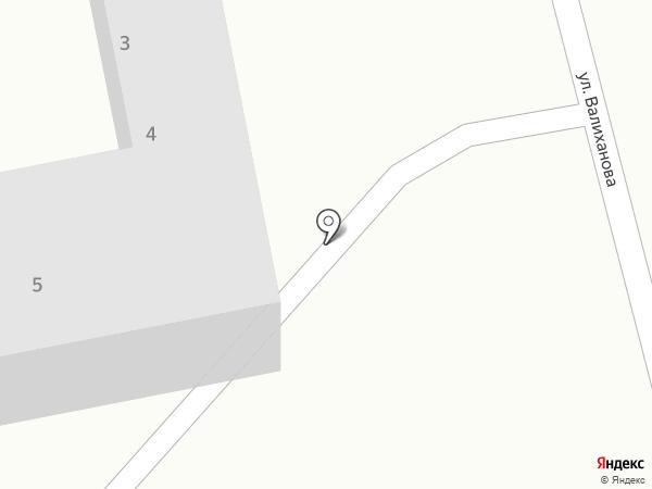 Социальный павильон на карте Темиртау