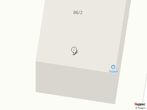 Ладья на карте Темиртау