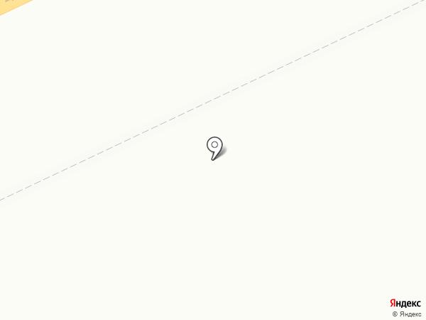 Роза на карте Темиртау