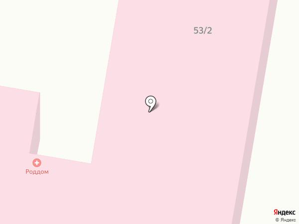 Родильный дом г. Темиртау на карте Темиртау