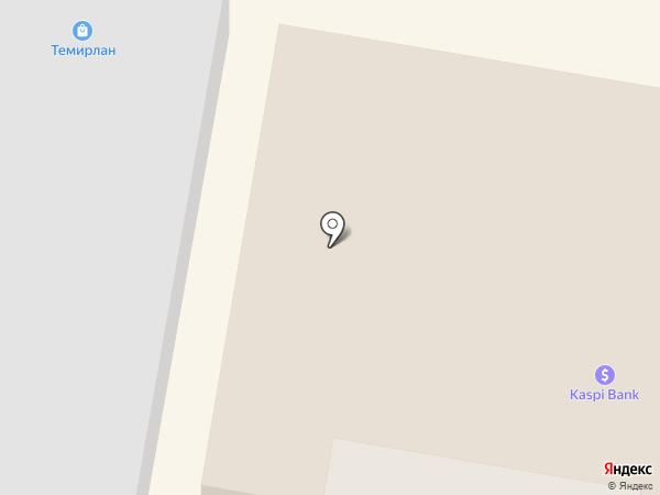 Айгерім на карте Темиртау