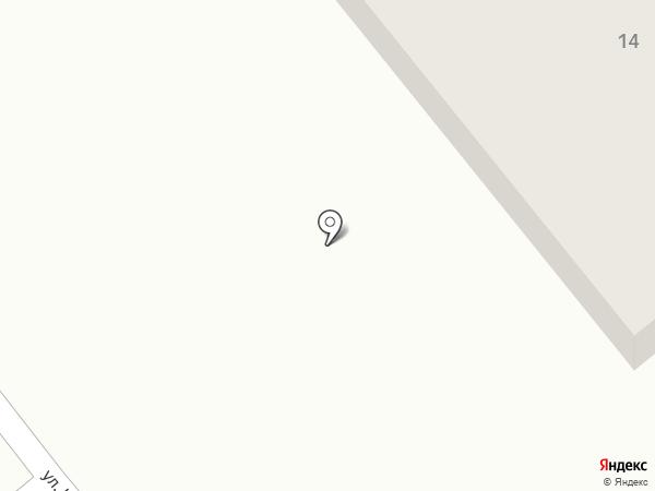 Хозяйственный магазин на карте Актаса