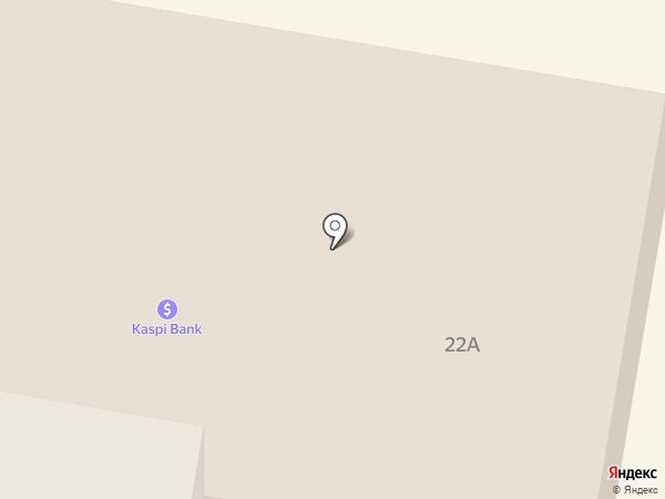 Контакт Недвижимость на карте Темиртау