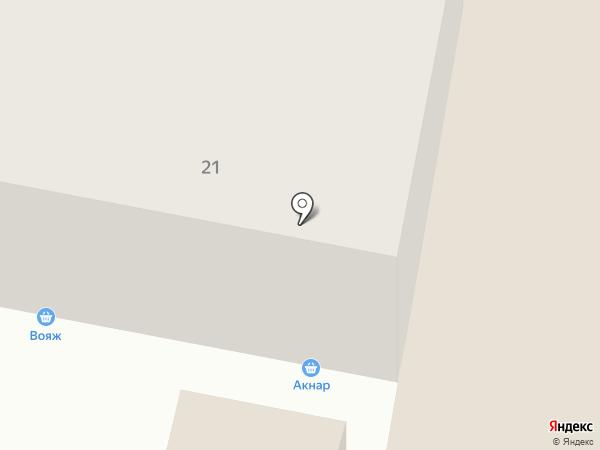 Акнар на карте Темиртау
