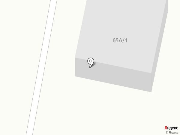 Автостоянка на проспекте Республики на карте Темиртау
