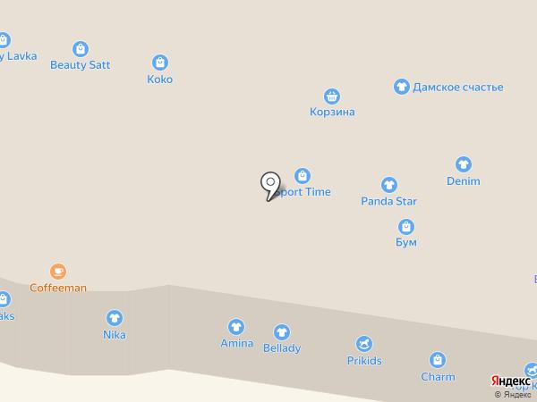 Bes на карте Темиртау