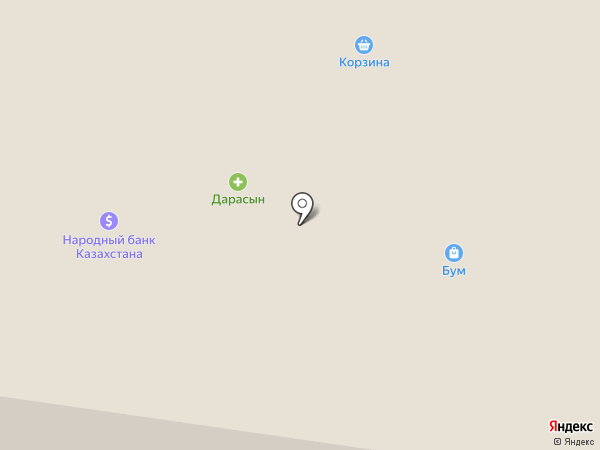 Merey на карте Темиртау