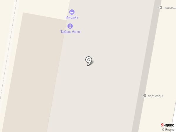 Труженик на карте Темиртау