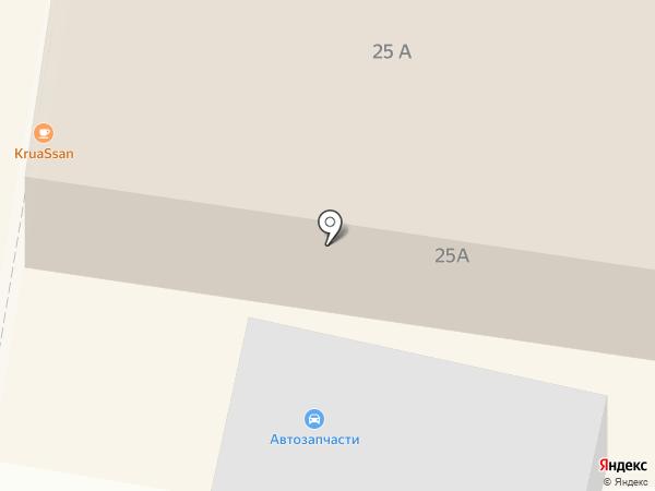Ласточка на карте Темиртау