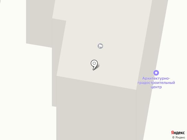 Архитектурно-градостроительный центр г. Темиртау на карте Темиртау