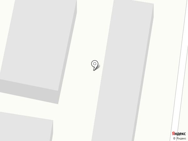 Автостоянка на карте Темиртау