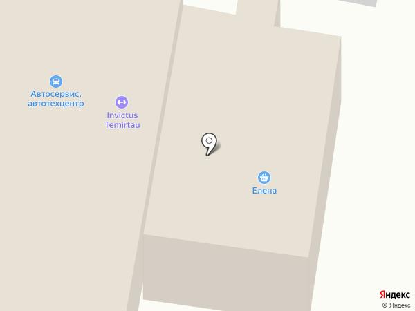 Елена на карте Темиртау