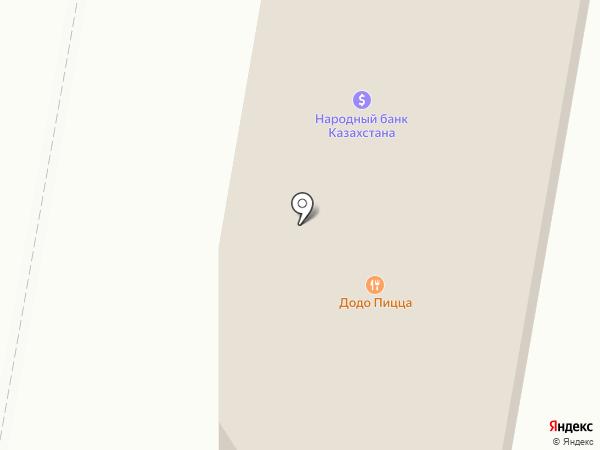 Радуга на карте Темиртау