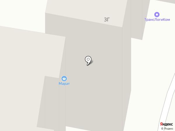 Марат на карте Темиртау